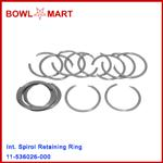 11-536026-000. Int. Spirol Retaining Ring